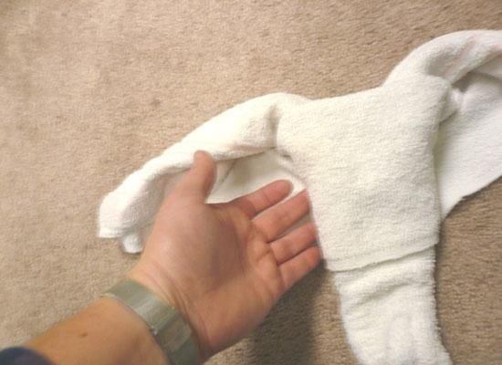 How to make an elephant from towels (16 photos)