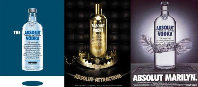 Absolute vodka ad compilation (16 photos)