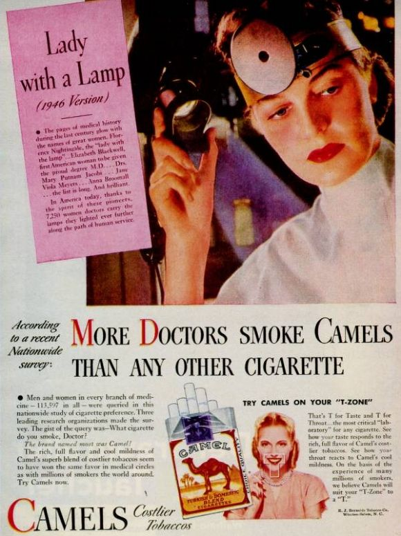 An old cigarette commercial (11 photos)