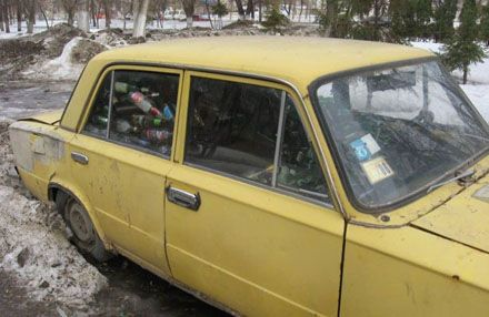 Why did they do that with this car? (3 photos)