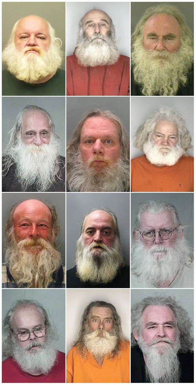 Another series of mugshots (14 photos)