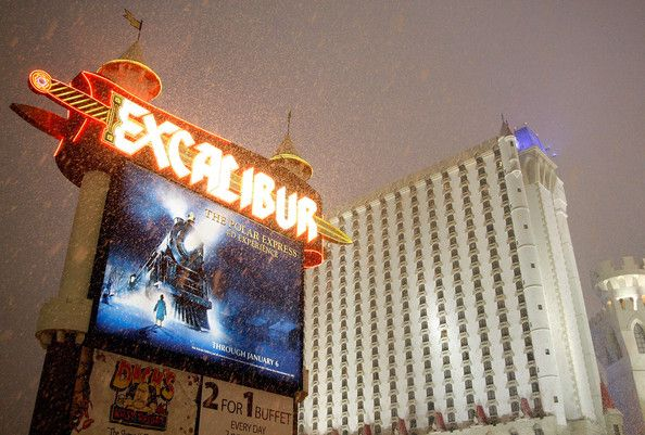 Snowy Las Vegas (10 photos)
