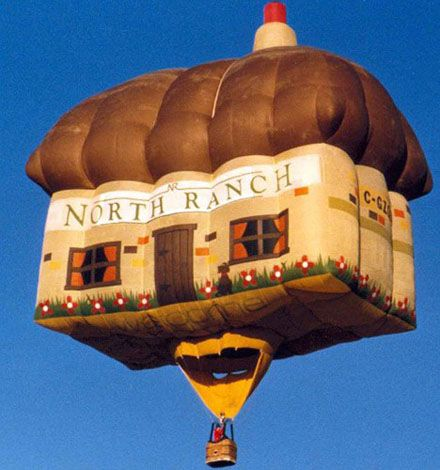 An unusual air balloon festival (35 photos)