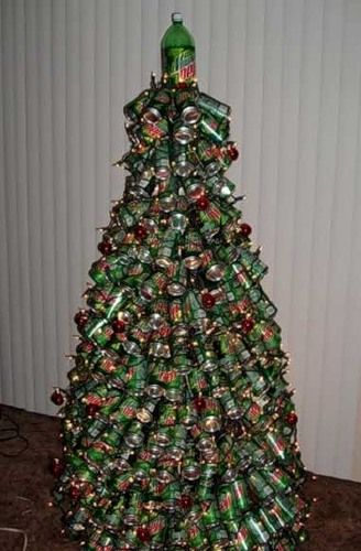 Original Christmas trees (21 photos)