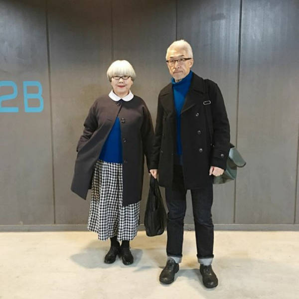 This Japanese Couple Has Mixed 37 Years, Love And Style Into These Amazing Photos