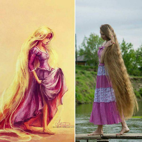 Russia Has A Real Life Rapunzel!