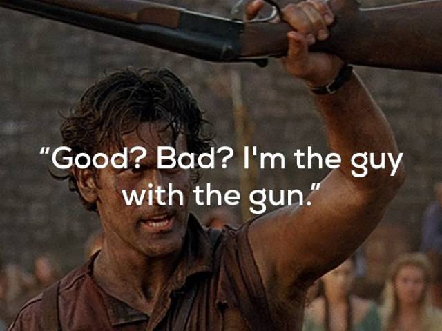 Even These Action Movie One-Liners Are Brutal, Let Alone Their Characters!