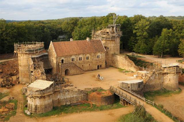 There's A Small Medieval World Being Built In France Right Now!
