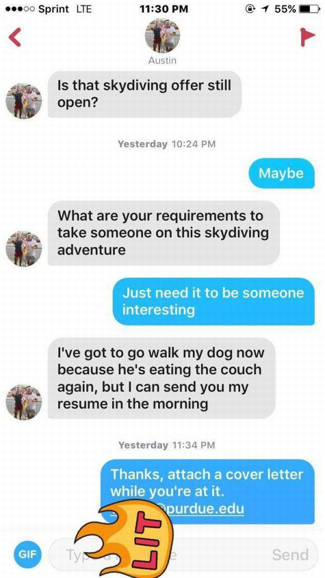 This Girl Used Tinder To Get Over A Breakup In A Most Brilliant Way