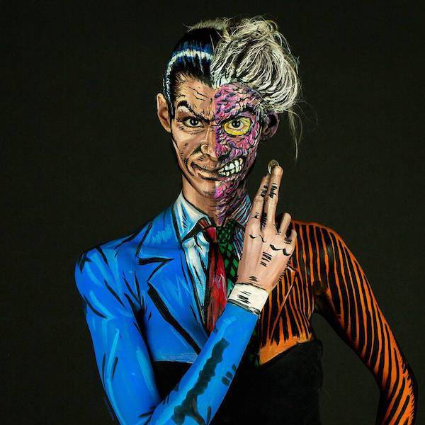 Kay Pike Could As Well Be The Cutest Body Paint Artist Out There