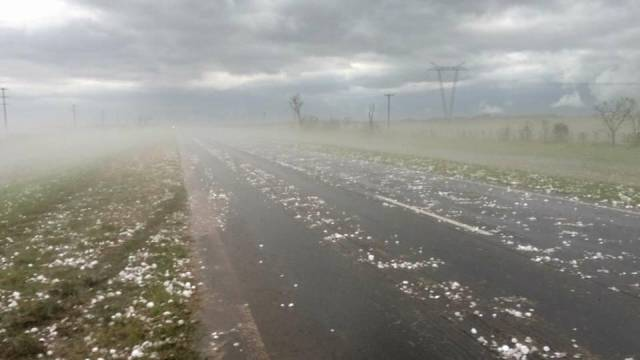 Massive Hail Was Enough To Destroy 20 Cars In Argentina