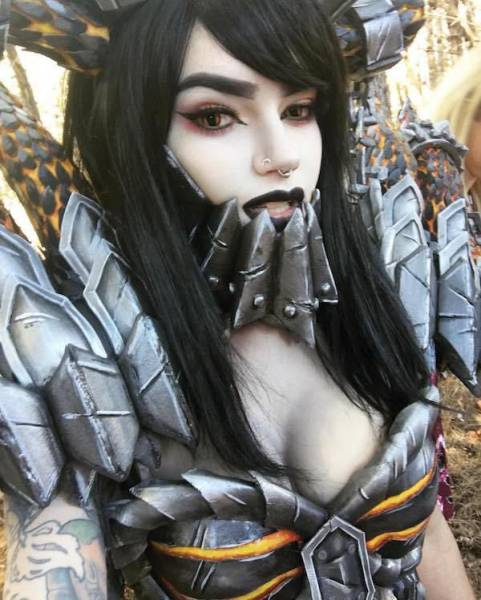 Zalaria Is The Perfect Cosplay Queen