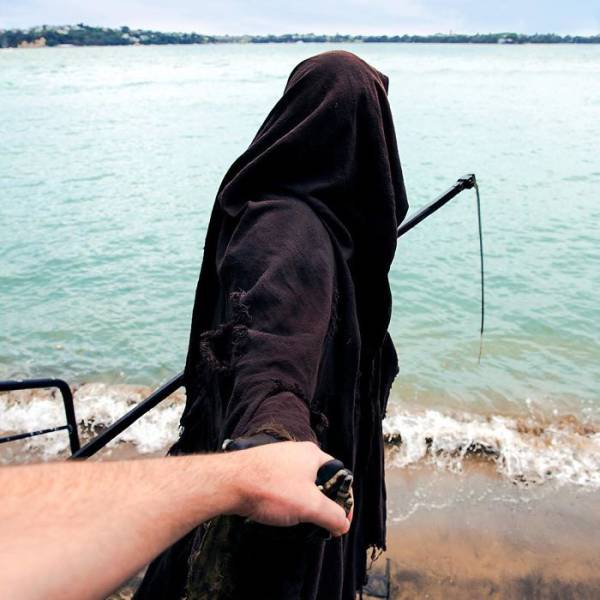 """The Swim Reaper"" Will Catch You Whenever You Are Not Safe On Water"