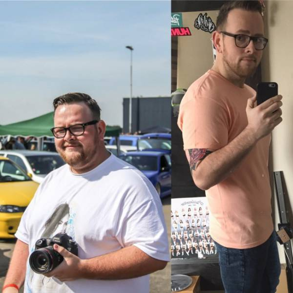 Men Who Challenged Fat And Won