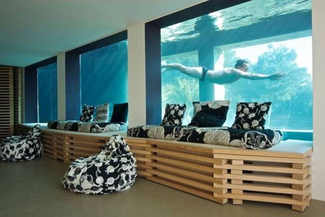 A Casual French Airbnb With An Aquarium Pool…