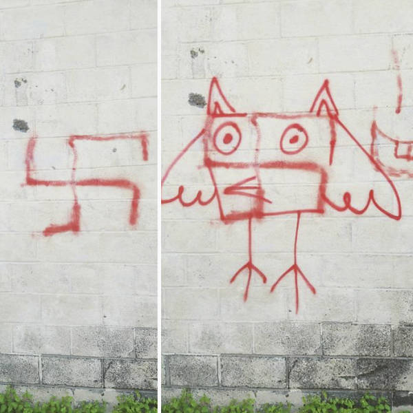 Berlin Has Found The Perfect Way To Fight Swastikas On The Streets!