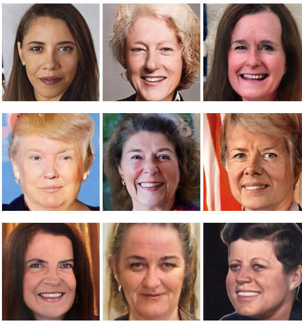 What If All Of The US Presidents Were Women?