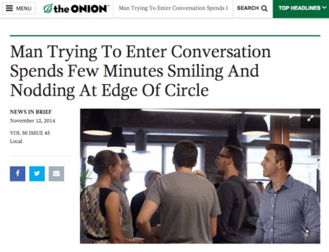 "Who Even Writes Those News Article Headers For ""The Onion""?!"