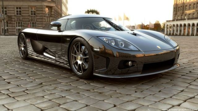 Koenigsegg CCX drawn on computer. Nice work (7 photos)