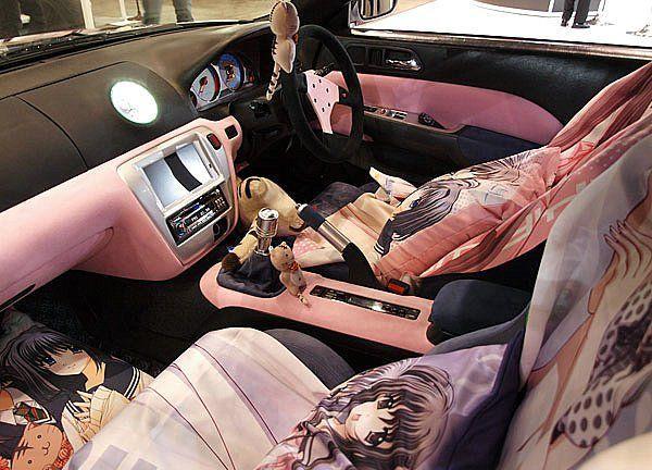 Cool Anime Car (5 photos)
