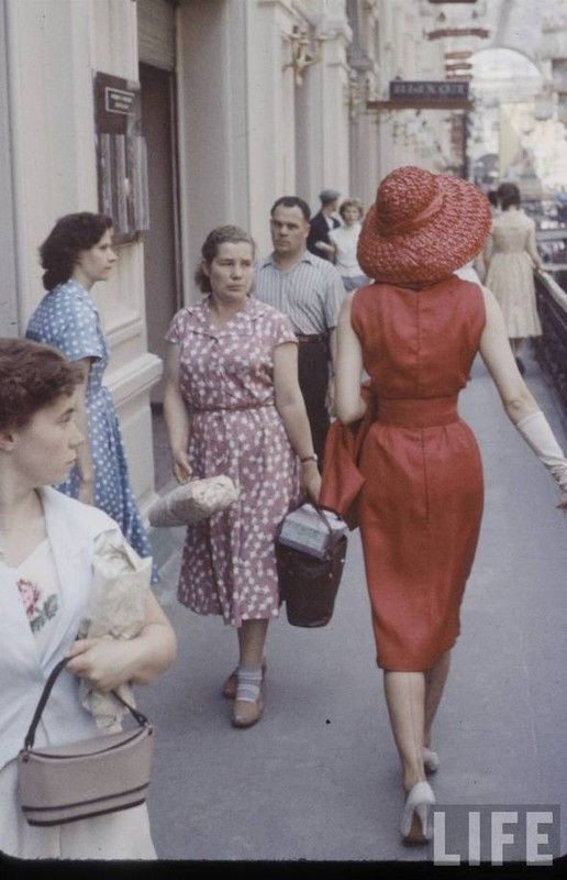 Dior fashion week in Moscow, 1959 (12 photos)
