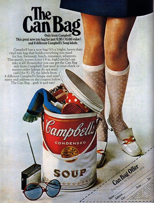 Vintage ads from well known brands (19 photos)