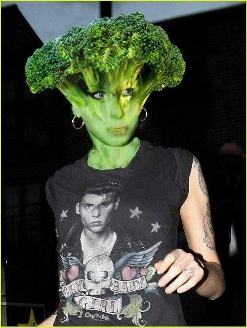 Celebrities, vegetables and photoshop (23 photos)