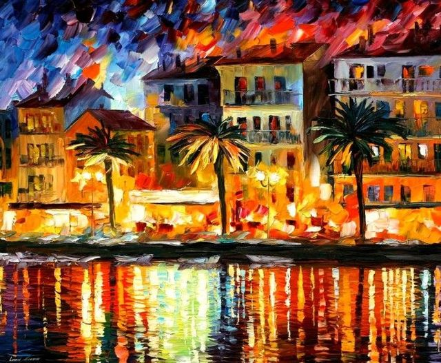 Magnificent Oil Paintings by Leonid Afremov (16 photos)