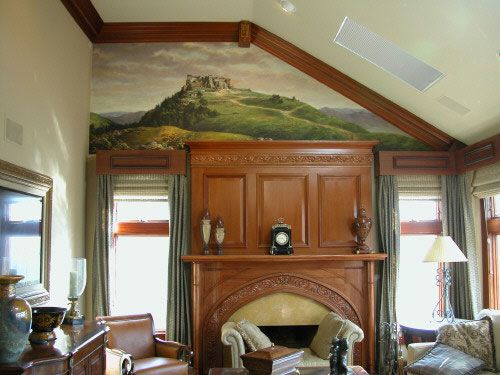Original drawings on the walls of apartments (19 photos)