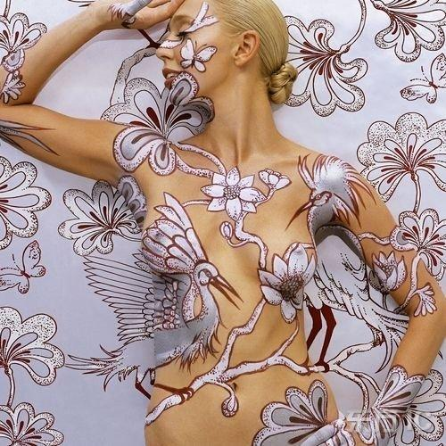 Unusual body art (15 pics)