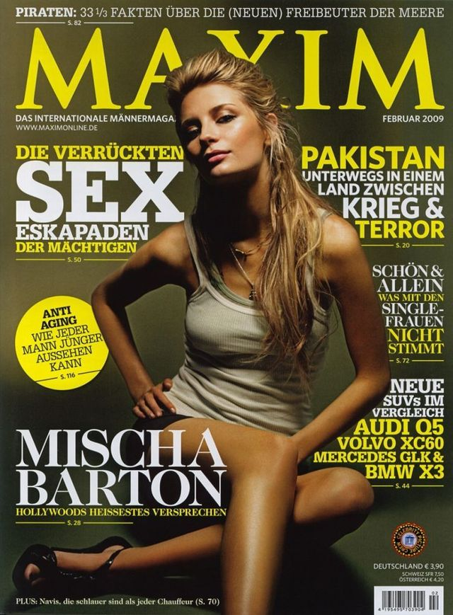 Mischa Barton in MAXIM magazine (8 photos)