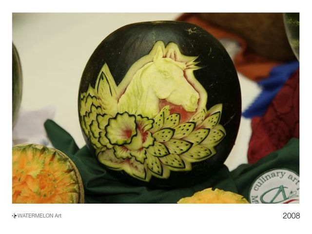 Watermelon Art. Awesome! (16 photos)