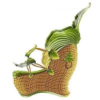 Shoes made from plants (14 photos)
