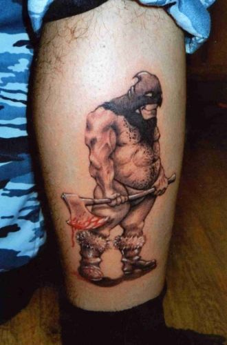 3D tattoos (34 photos)