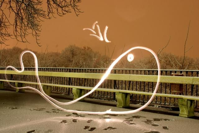 Light graffiti (16 photos)