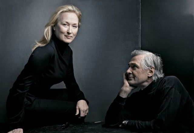 Directors with actors by Annie Leibovitz (10 photos)