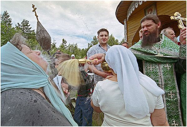 Russian Orthodox priests (13 photos)