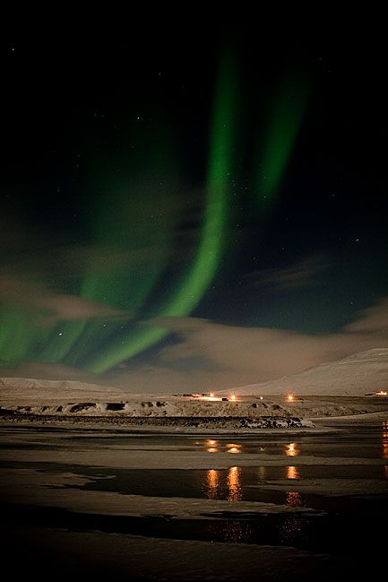 Northern lights. Very beautiful! (9 photos)