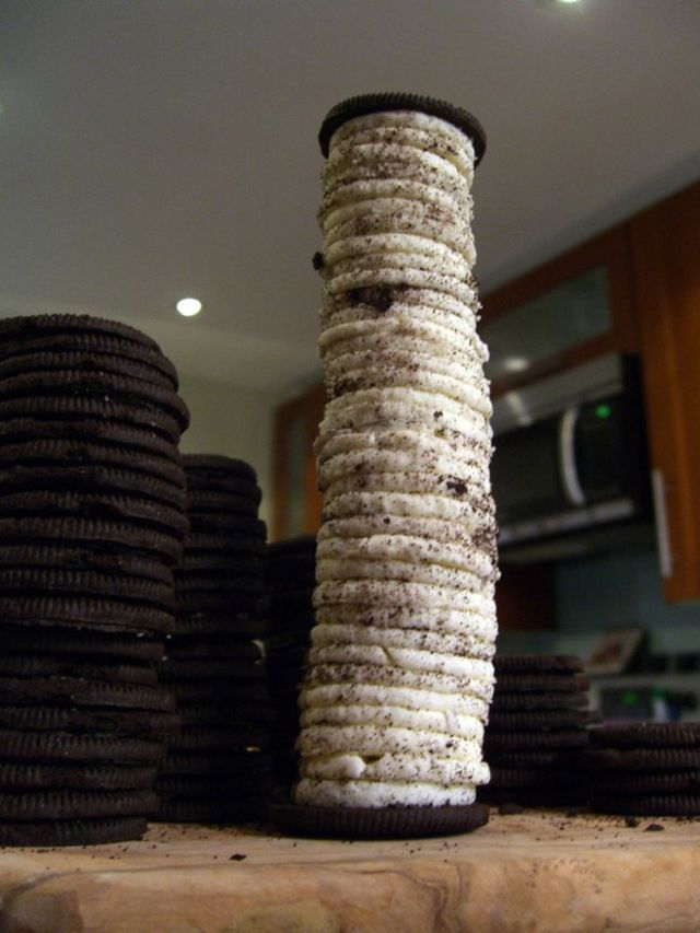 How to make a long cookie (4 photos)