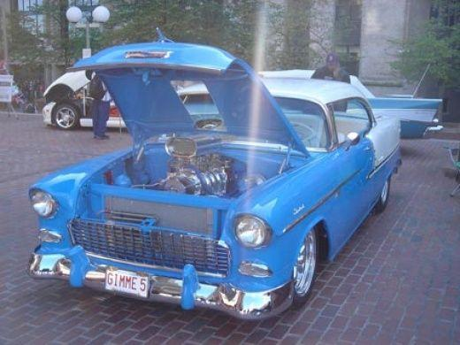 Customized classic cars (28 photos)