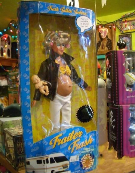 And this doll is for children?! (6 photos)