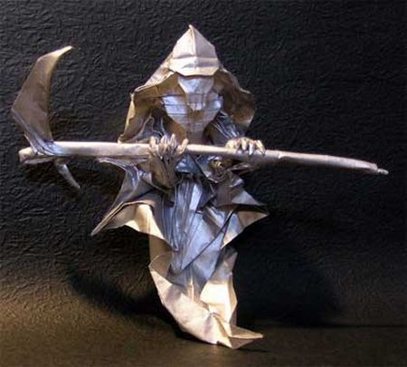Cool origami models (10 photos)