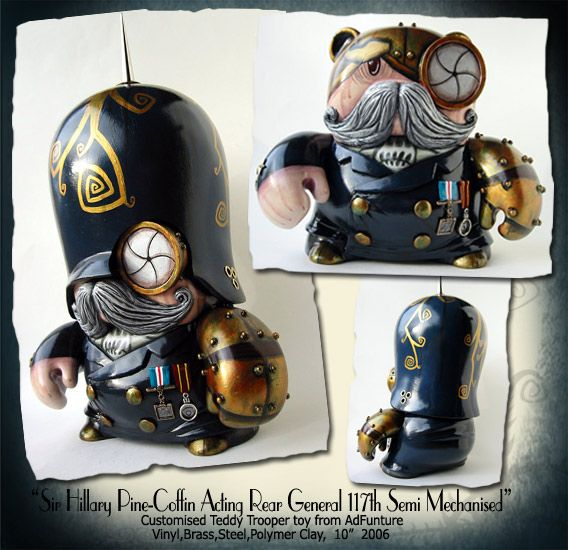 Steampunk toys. Incredible (19 photos)