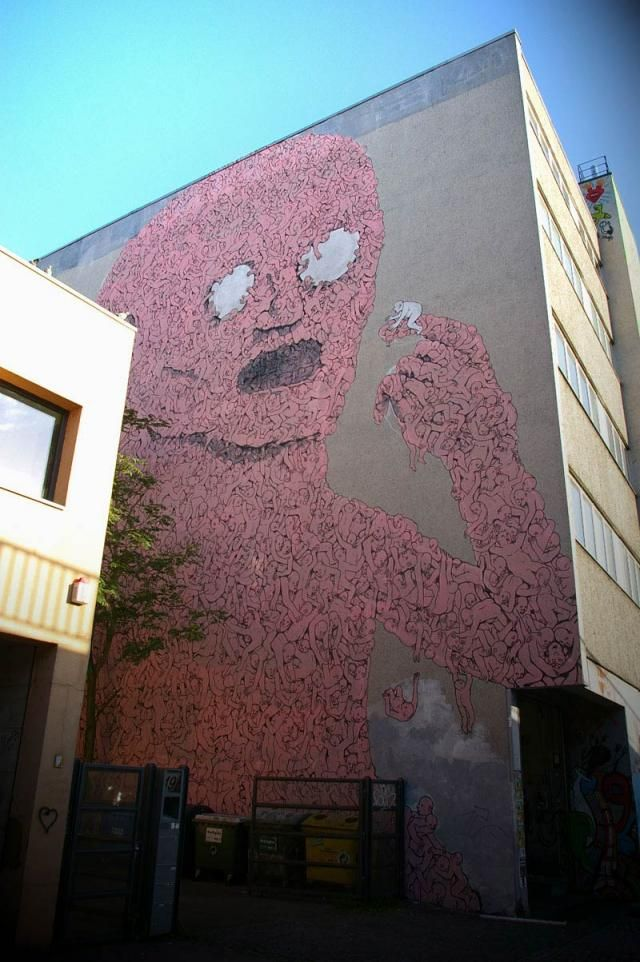 Urbain street art. Fascinating (38 photos)