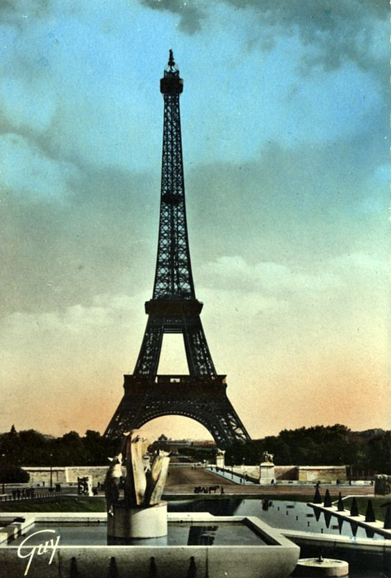 Paris postcards from early 20th century (14 photos)