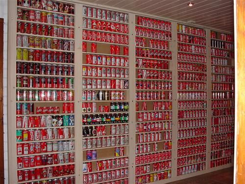 Coca-Cola can collection (6 photos)