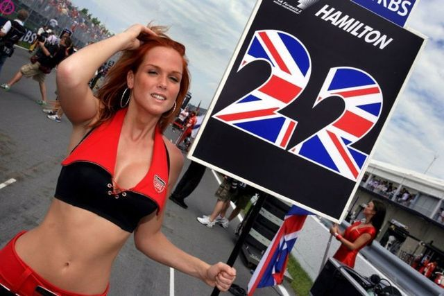 Formula 1 Girls (17 photos)