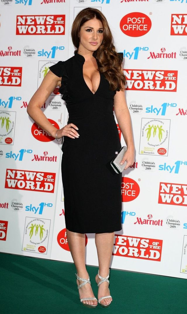 Lucy Pinder at the Children's Champions 2009 awards in London (5 photos)
