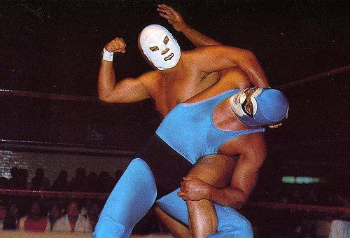Mexican Wrestler (17 photos)