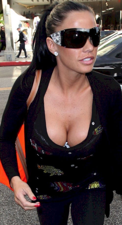 Katie Price in Hollywood (6 photos)